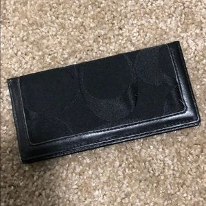 Coach check holder